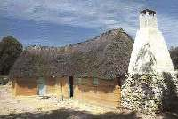 Wattle and daub house